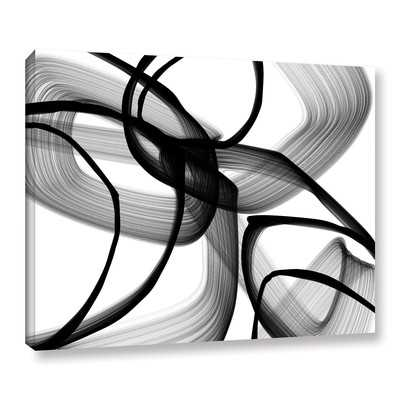 'Abstract Poetry in Black and White 100' by Irena Orlov Graphic Art - Wayfair