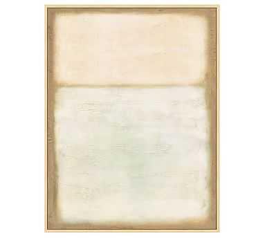 """Desert Horizon Framed Canvas, 40 x 52"""" - Pottery Barn"""
