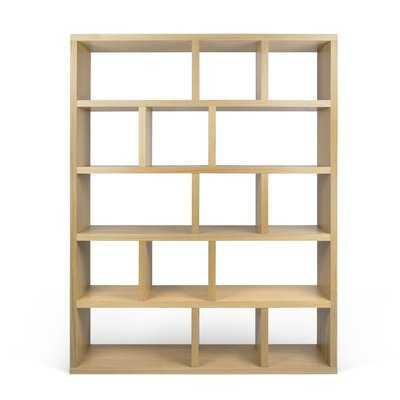 Varga 5 Level Geometric Bookcase - Wayfair