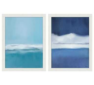 "Summer Mist Framed Print, Set of 2, 17 x 22"" - Pottery Barn"