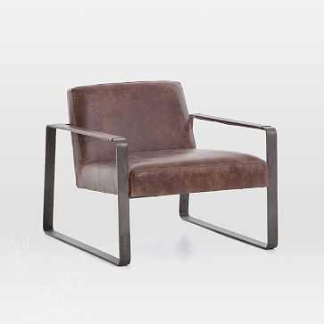Adrian Leather Chair - West Elm