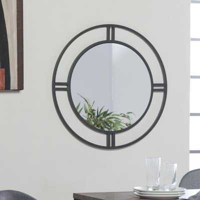 Camber Round Accent Mirror - Wayfair