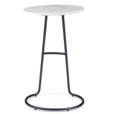 Ostler Marble Side Table - Wayfair