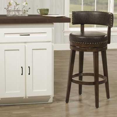 Malachy Swivel Bar Stool - Wayfair