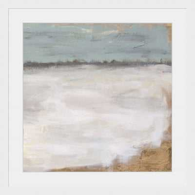 'Land of Stone II' Framed Oil Painting Print - Birch Lane