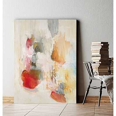 Premium Gallery 'Boundless I' Framed Painting Print on Wrapped Canvas - Wayfair