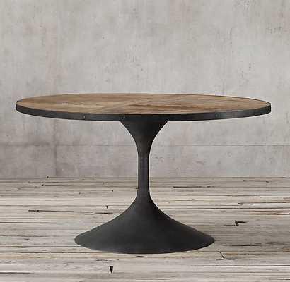 AERO ROUND DINING TABLE - RH