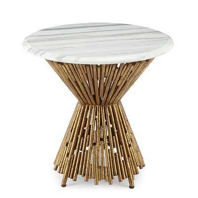 Tobiah Multi Pipes End Table - Wayfair