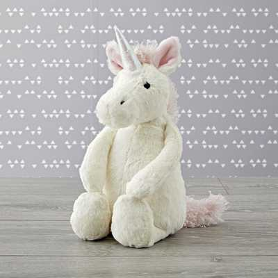 Jellycat ® Medium Unicorn Stuffed Animal - Crate and Barrel