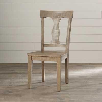 Damascus Solid Wood Side Chair in Medium Brown (Set of 2) - Birch Lane