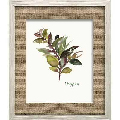 Oregano by Asia Jensen Framed Painting Print - Wayfair