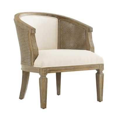 Kingston Gray Wash Upholstered Side Chair, Gray Wash/Driftwood Finish - Home Depot