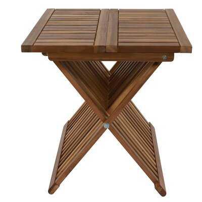 Treyton Wooden Folding Table - Wayfair