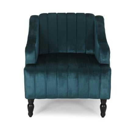 Gonzales Glam Velvet Club Chair - Wayfair