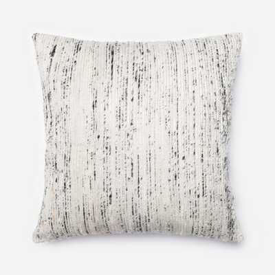 """PILLOWS - SILVER / MULTI - 22"""" X 22"""" Cover Only - Loma Threads"""