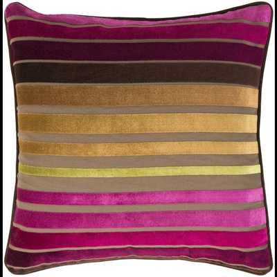 Velvet Stripe with down insert - Neva Home