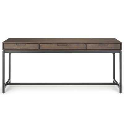 Bak Wide Solid Wood Desk - Wayfair