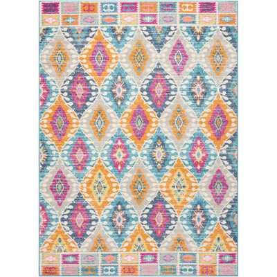 Passion Multicolor 5 ft. x 7 ft. Area Rug - Home Depot
