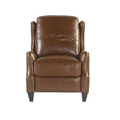 Rochelle Leather Manual Recliner - Wayfair