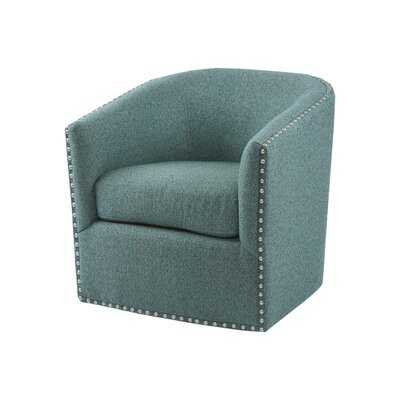 Leominster Swivel Barrel Chair - Wayfair