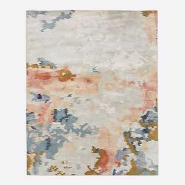 Flame Rug, Multi, 9'x12' - West Elm