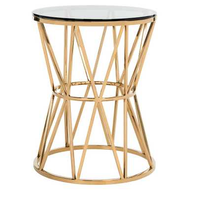 End Table Gold - Safavieh - Target