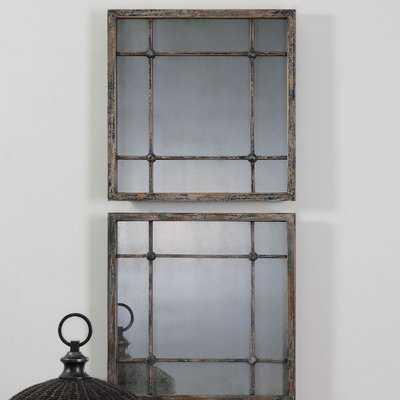 Square Accent Mirror Set - Wayfair