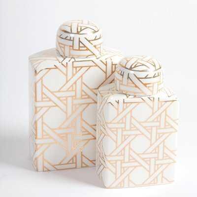 Fortunato Printed Ginger Jar - Wayfair