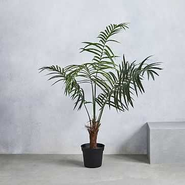 Faux Fan Palm Tree - West Elm