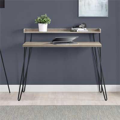 Tess Writing Desk - Sonoma Oak - Wayfair