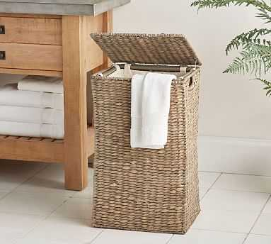 Perry Hamper, Single, Gray Wash - Pottery Barn