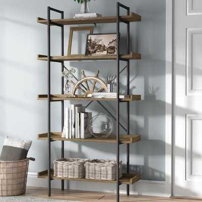 Brianna Standard Bookcase - Wayfair