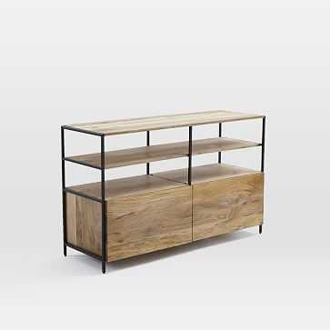 "Industrial Modular Media Console (49"") - West Elm"