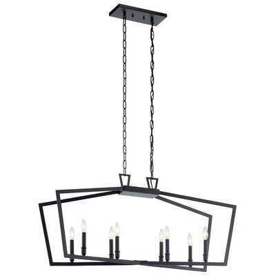 Magness Linear 8-Light Geometric Chandelier - Wayfair