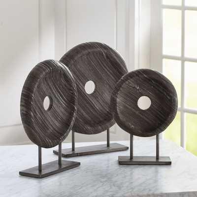 Rosie Round Sculptures, Set of 3 - Crate and Barrel