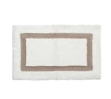 "Morgan Memory Foam Bath Rug, 27x45"", Simply Taupe - Pottery Barn"
