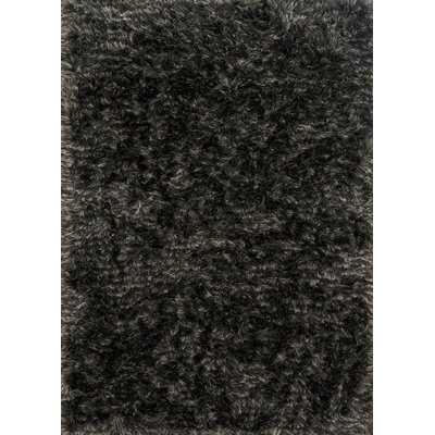 Elliana Shag Hand-Tufted Charcoal Area Rug - Wayfair