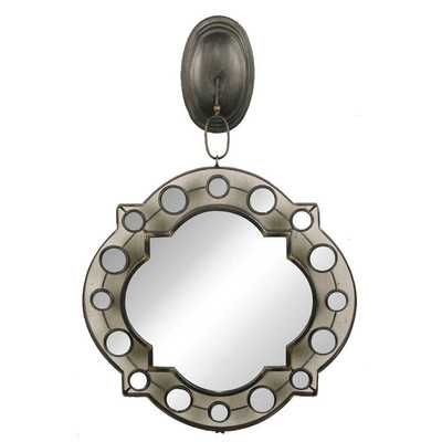 Moroccan Round Mirror - Wayfair