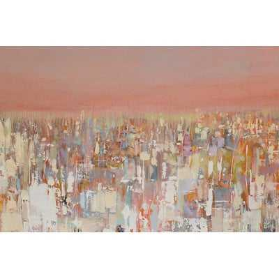 Urbanities Series: Cityscape Painting Print on Wrapped Canvas - Wayfair