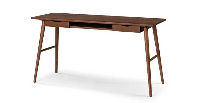 Culla Walnut Desk - Article