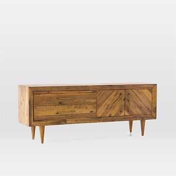 Alexa Reclaimed Wood Media Console - West Elm