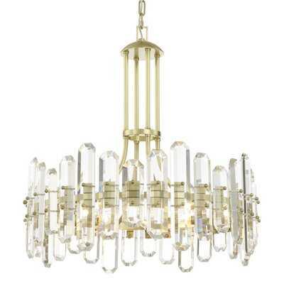 Hegwood 6-Light Crystal Chandelier - Wayfair