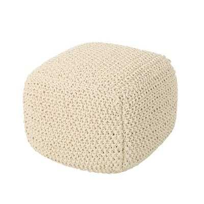 Peete Pouf - Wayfair
