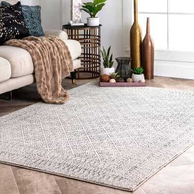 Rosborough Beige Area Rug - Wayfair