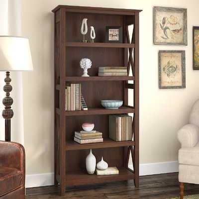Oridatown Standard Bookcase- Bing Cherry - Birch Lane