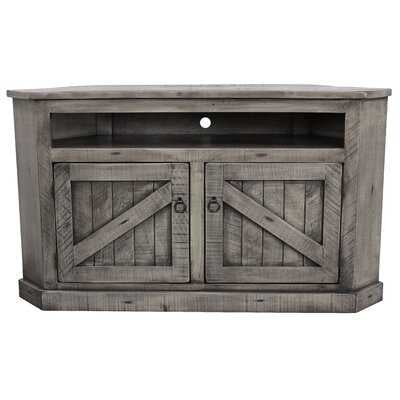 Benji Solid Wood Corner TV Stand for TVs up to 65 inches - Birch Lane