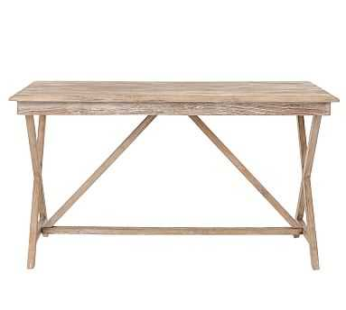 JESSIE RECLAIMED WOOD DESK - Pottery Barn