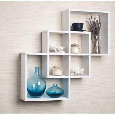 Smyrna Intersecting Wall Shelf - Wayfair
