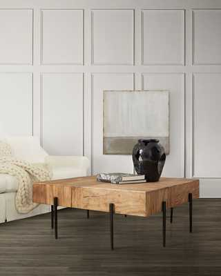 Warner Square Coffee Table - Horchow