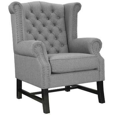 Steer Wing back Chair - Wayfair